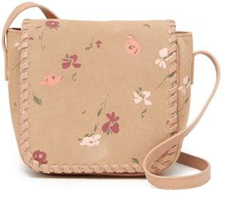 Lucky Brand Nela Small Suede Crossbody Bag