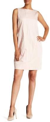 Lafayette 148 New York Luna Boatneck Sleeveless Dress