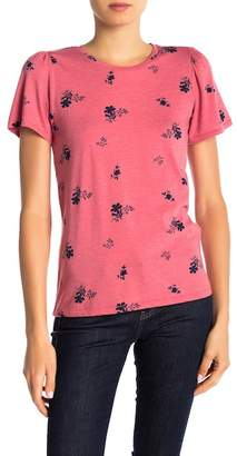 Lucky Brand Allover Floral Tee