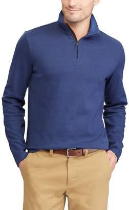 Chaps Men's Classic-Fit Herringbone Quarter-Zip Pullover