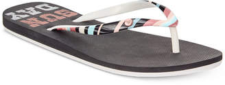 Roxy Portofino Ii Flip-flop Sandals Women's Shoes