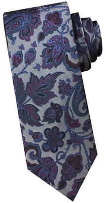 Perry Ellis Paisley Silk Tie