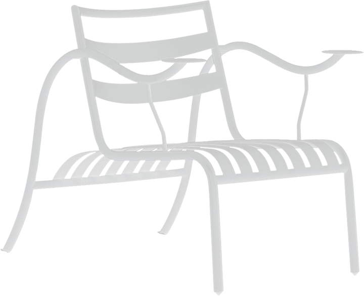 Thinking Man ́s Chair, Gipsweiß (1427)