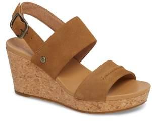 UGG Elena II Platform Wedge Sandal