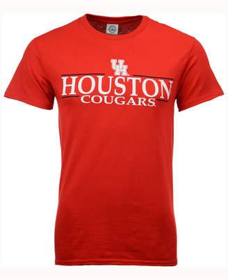 J America Men Houston Cougars Line Stack T-Shirt