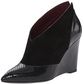 Marc by Marc Jacobs Women's Mae Pointed Toe Wedge Boot $398 thestylecure.com