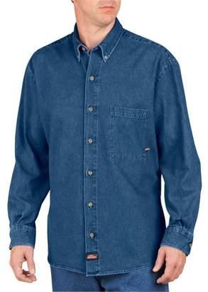 Dickies Genuine Big Men's Long Sleeve Denim Shirt