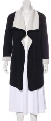 Autumn Cashmere Cashmere-Blend Long Sleeve Cardigan