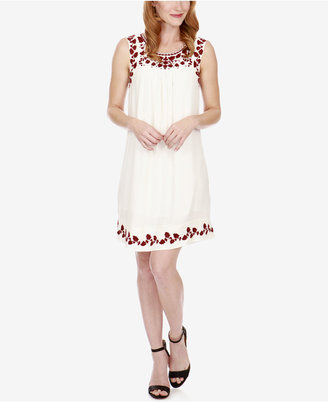 Lucky Brand Hannah Embroidered Shift Dress $119 thestylecure.com