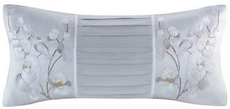Natori White Orchid Oblong Pillow