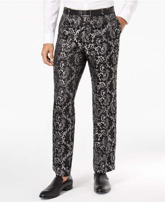 INC International Concepts I.n.c. Men's Paisley Jacquard Pants
