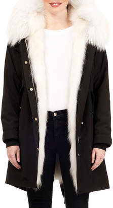 Gorski Fox-Fur Lined Parka w/ Detachable Hood