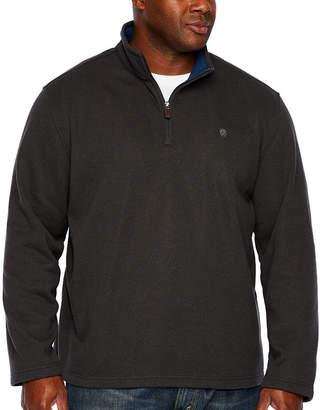 Izod Ls 1 4 Zip Sweater Fleece Mens Long Sleeve Sweatshirt Big and Tall
