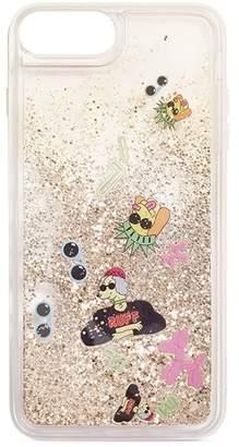 Casetify French bulldog floaty glitter iPhone 6/6S/7/8 Plus case