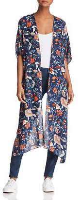 Sage the Label Deep Sea Floral Kimono