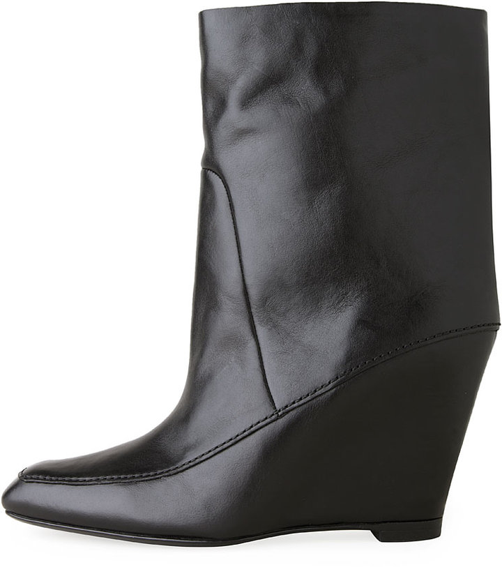 Alexander Wang Cato Low Wedge Bootie