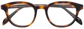 Alexander McQueen Eyewear round glasses