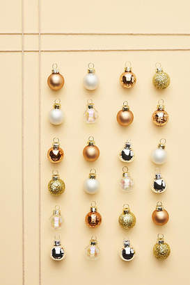 Anthropologie Copper Mini Ornaments, Set of 24