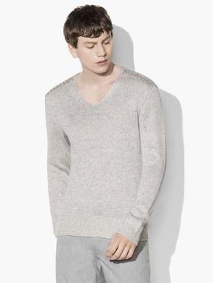 Artisan V-Neck Sweater $398 thestylecure.com
