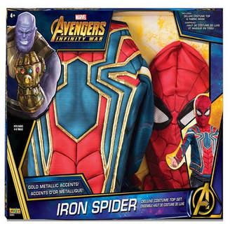 BuySeasons Deluxe Spider-Man Boys Costume Top Set
