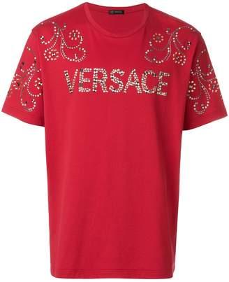 Versace studded T-shirt