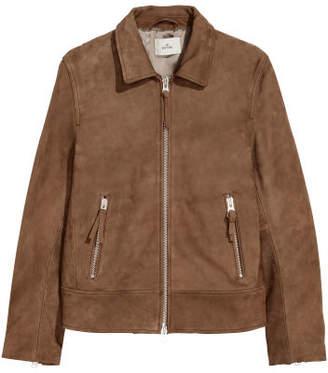 H&M Leather Jacket - Beige