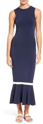 Women's Chelsea28 Zigzag Trim Maxi Dress $119 thestylecure.com