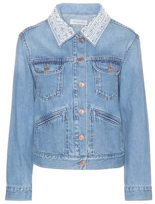 Etoile Isabel Marant Isabel Marant, Étoile Christa beaded denim jacket