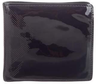 e5a77adb52de Alexander McQueen Patent Leather Bifold skull Wallet