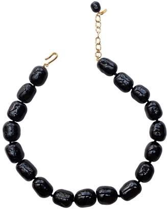Chanel Vintage Black Pearls Necklace