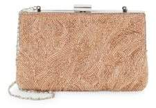 La Regale Beaded Minaudiere Convertible Clutch