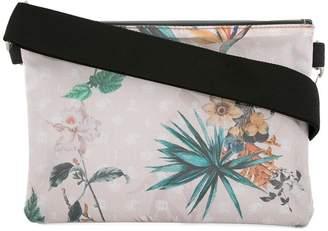 Loveless printed clutch bag