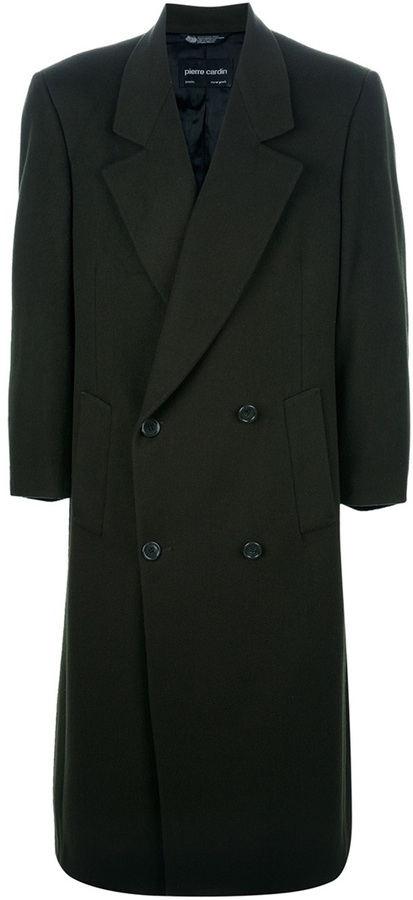 Pierre Cardin Vintage OVERSIZED DOUBLE BREASTED COAT