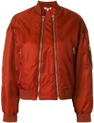 Kenzo double zip bomber jacket