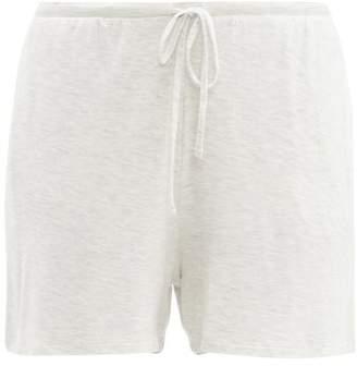 BEIGE Skin - Drawstring Waist Jersey Shorts - Womens