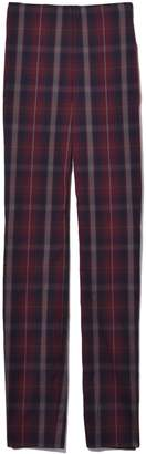 Rag & Bone Simone with Yoke Pant in Burgundy Plaid