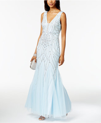 Xscape Embellished Mermaid Gown $329 thestylecure.com