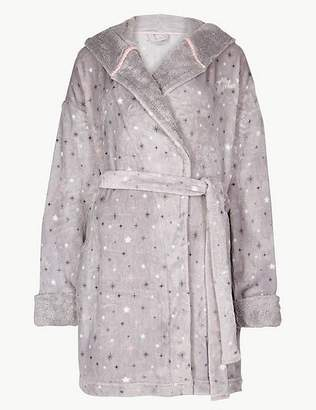 Marks and Spencer Fleece Tinkerbell Print Dressing Gown