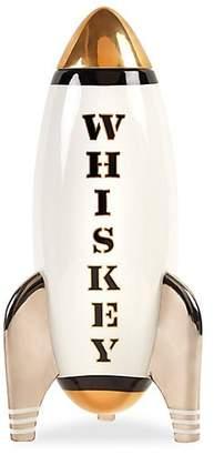 Jonathan Adler Porcelain Whiskey Rocket Decanter