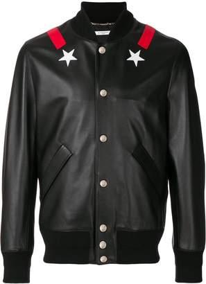 Givenchy star bomber jacket