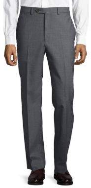 Lauren Ralph Lauren Flat-Front Wool Pants