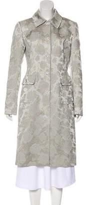 Dolce & Gabbana Brocade Long Coat