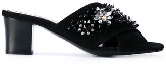 Lanvin crystal embellished sandals