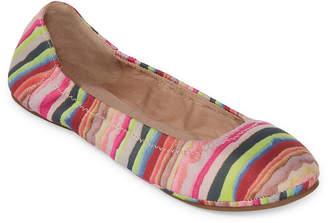 A.N.A Joy Womens Slip-on Round Toe Ballet Flats
