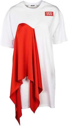 MSGM Insert T-shirt Dress