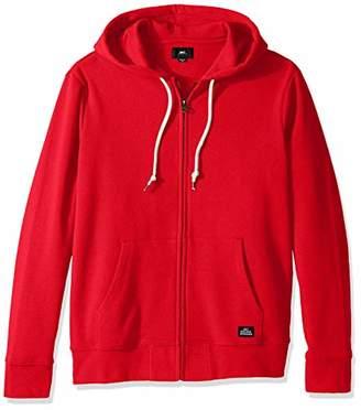 Obey Men's Lofty Comforts Hooded Zip Sweatshirt