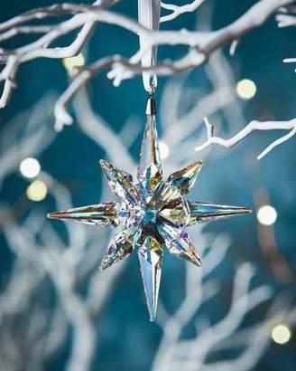 Swarovski Clear Crystal Star Christmas Ornament