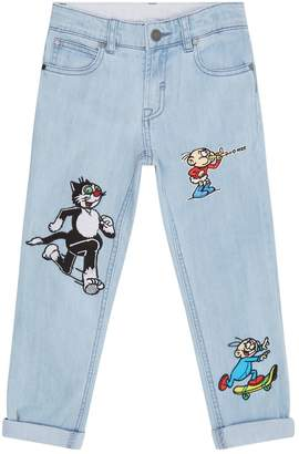 Stella McCartney Dandy Patch Jeans