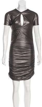 Pierre Balmain Metallic Bodycon Dress w/ Tags