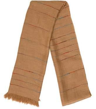 Etro Frayed Knit Scarf